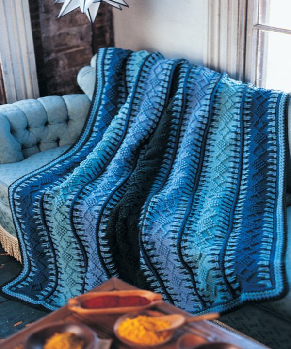 Fresh Alaskan Blue Tunisian Crochet Blanket Tunisian Crochet Blanket Of Attractive 49 Models Tunisian Crochet Blanket
