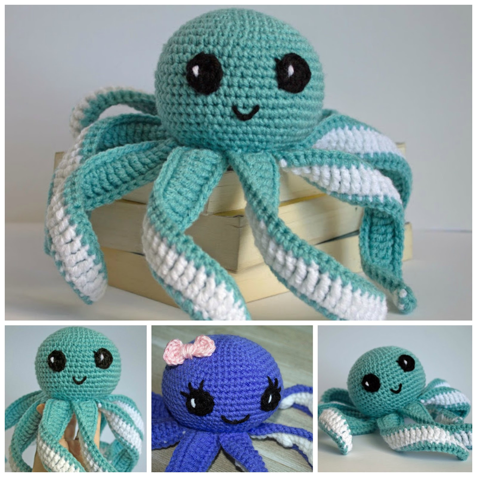 Fresh Amigurumi Octopus Baby toy Free Pattern Crochet Baby toy Patterns Of Lovely 44 Images Crochet Baby toy Patterns