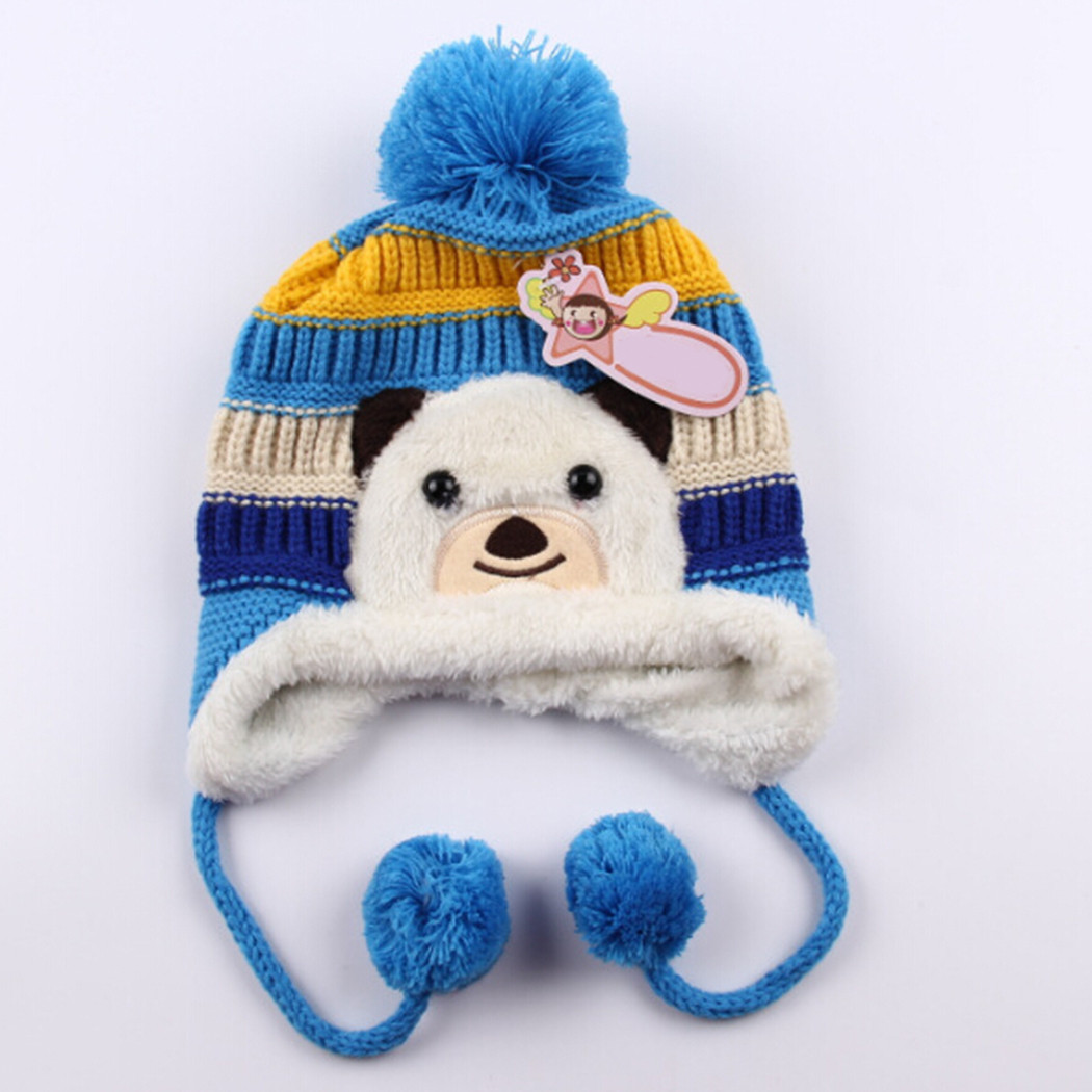Fresh Animal Pattern Baby Boy&girl Beanie Hat Winter Warm Cap Baby Animal Hats Of Attractive 49 Images Baby Animal Hats