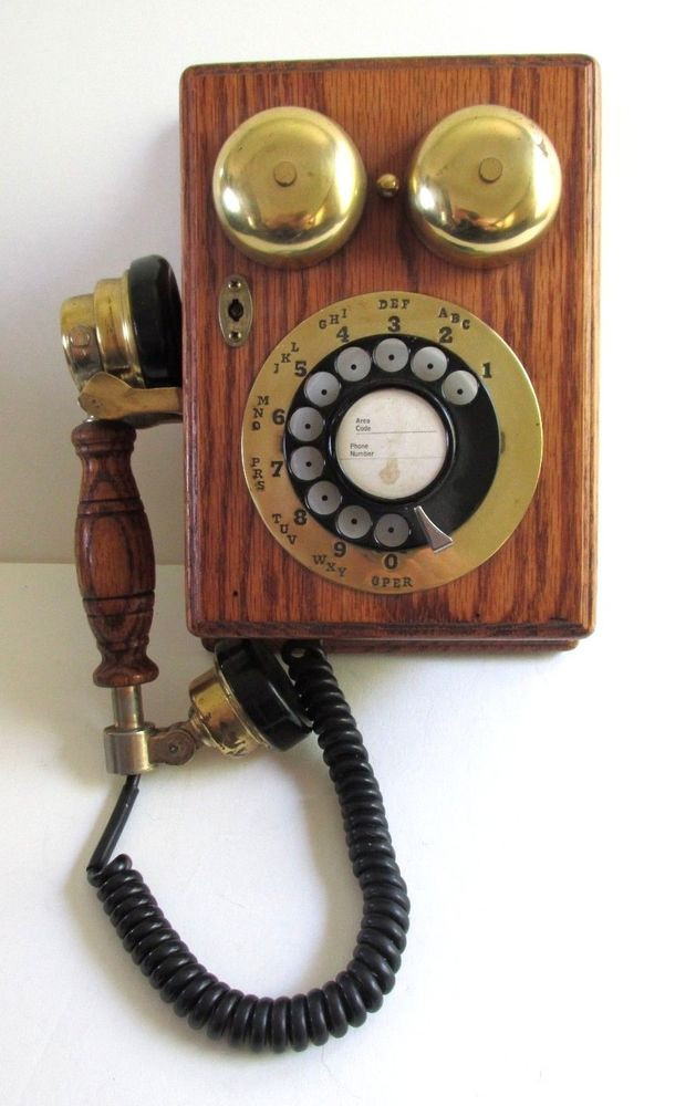 Fresh Antique Replica Wood Wall Mount Telephone Rotary Dial Cord Vintage Rotary Wall Phone Of Wonderful 46 Pictures Vintage Rotary Wall Phone