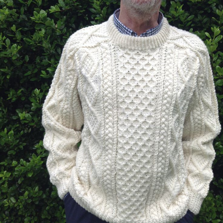 "Fresh Aran Cable Knitting Patterns Cable Knit Sweater Pattern Of New Lace & Cable Sweater Dk Wool 30"" 40"" Knitting Cable Knit Sweater Pattern"