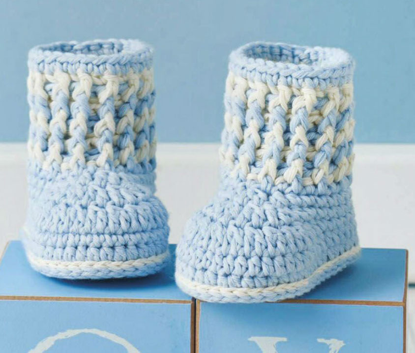 Fresh Baby Boy Booties to Crochet ⋆ Crochet Kingdom Crochet Baby Boy Booties Of Luxury 45 Models Crochet Baby Boy Booties