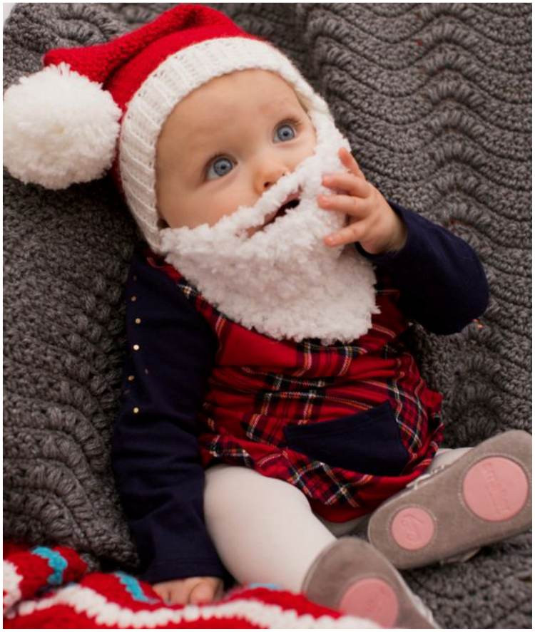 Fresh Baby Crochet Santa Hat with Beard – Free Pattern Crochet Baby Santa Hat Of Amazing 44 Images Crochet Baby Santa Hat
