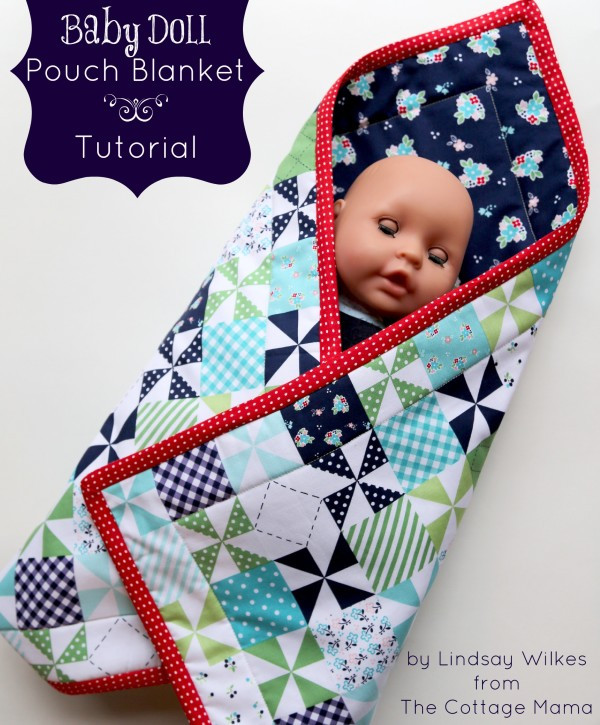 Fresh Baby Doll Pouch Blanket Tutorial the Cottage Mama Baby Doll Blankets Of Adorable 37 Images Baby Doll Blankets