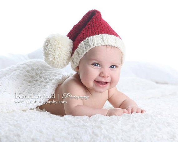 Fresh Baby Knit Santa Elf Hat Christmas Infant toddler Cap Prop Baby Elf Hat Of Lovely 47 Ideas Baby Elf Hat