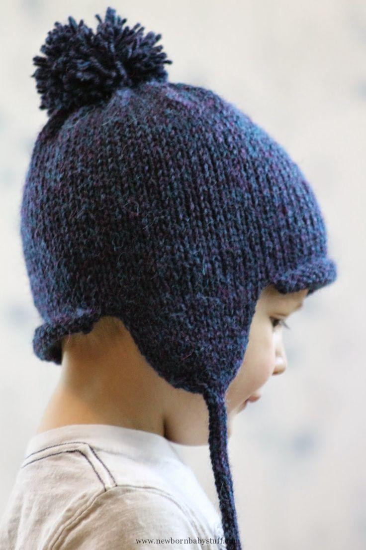 Fresh Baby Knitting Patterns Balls to the Walls Knits All In Earflap Hat Knitting Pattern Of Elegant Mens Crochet Hat Pattern with Ear Flaps Dancox for Earflap Hat Knitting Pattern