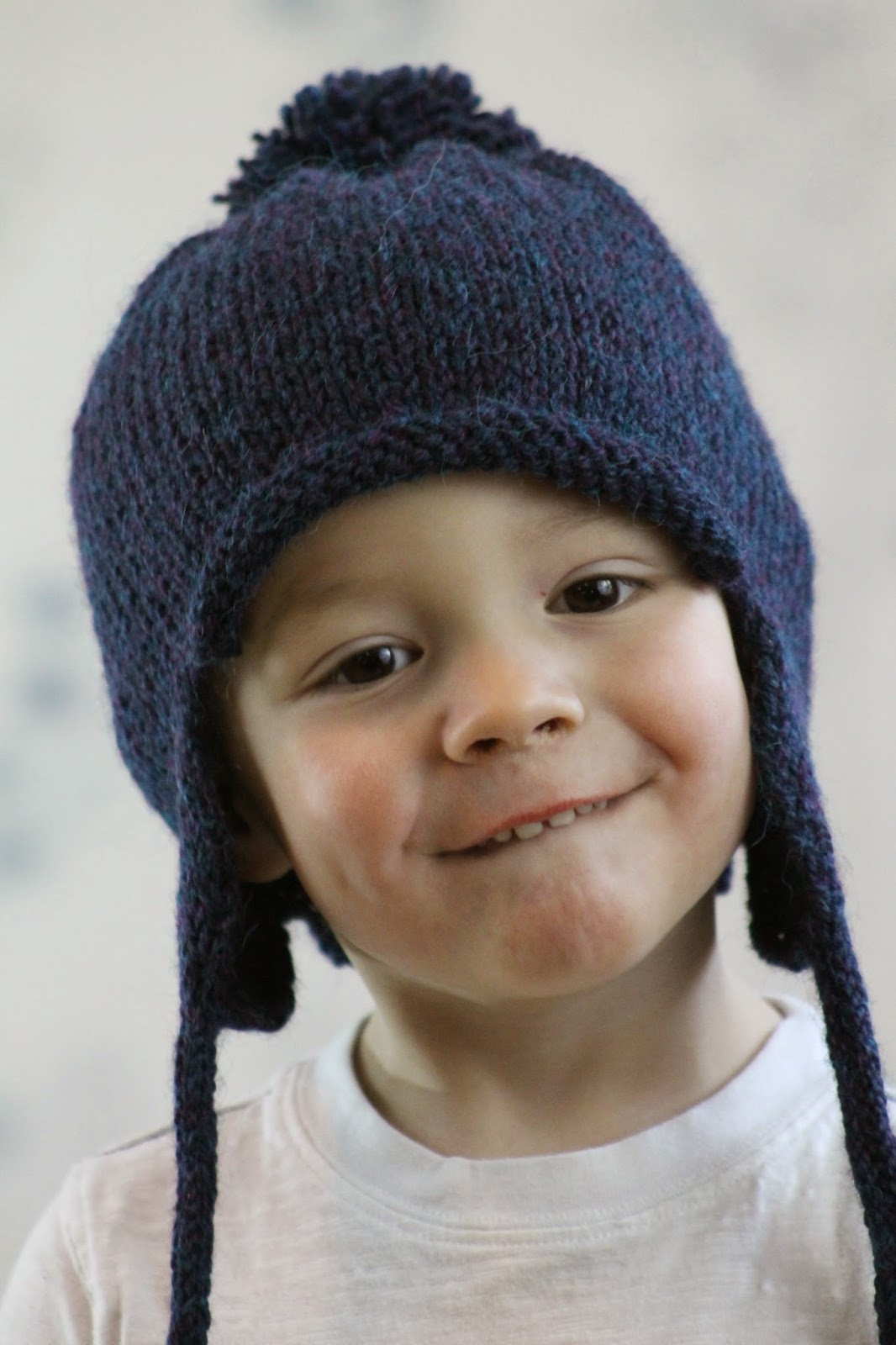 Balls to the Walls Knits All in the Family Earflap Hat