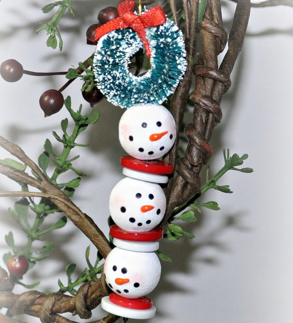 Fresh Beaded Snowman Strand Snowman Christmas ornaments Of Adorable 45 Models Snowman Christmas ornaments
