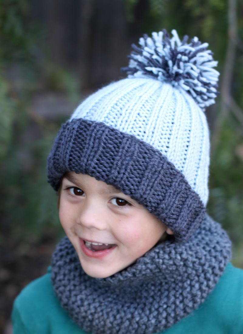 Fresh Beginner Easy Ribbed Pom Hat Easy Knit Hat Pattern Free Of Top 45 Pictures Easy Knit Hat Pattern Free