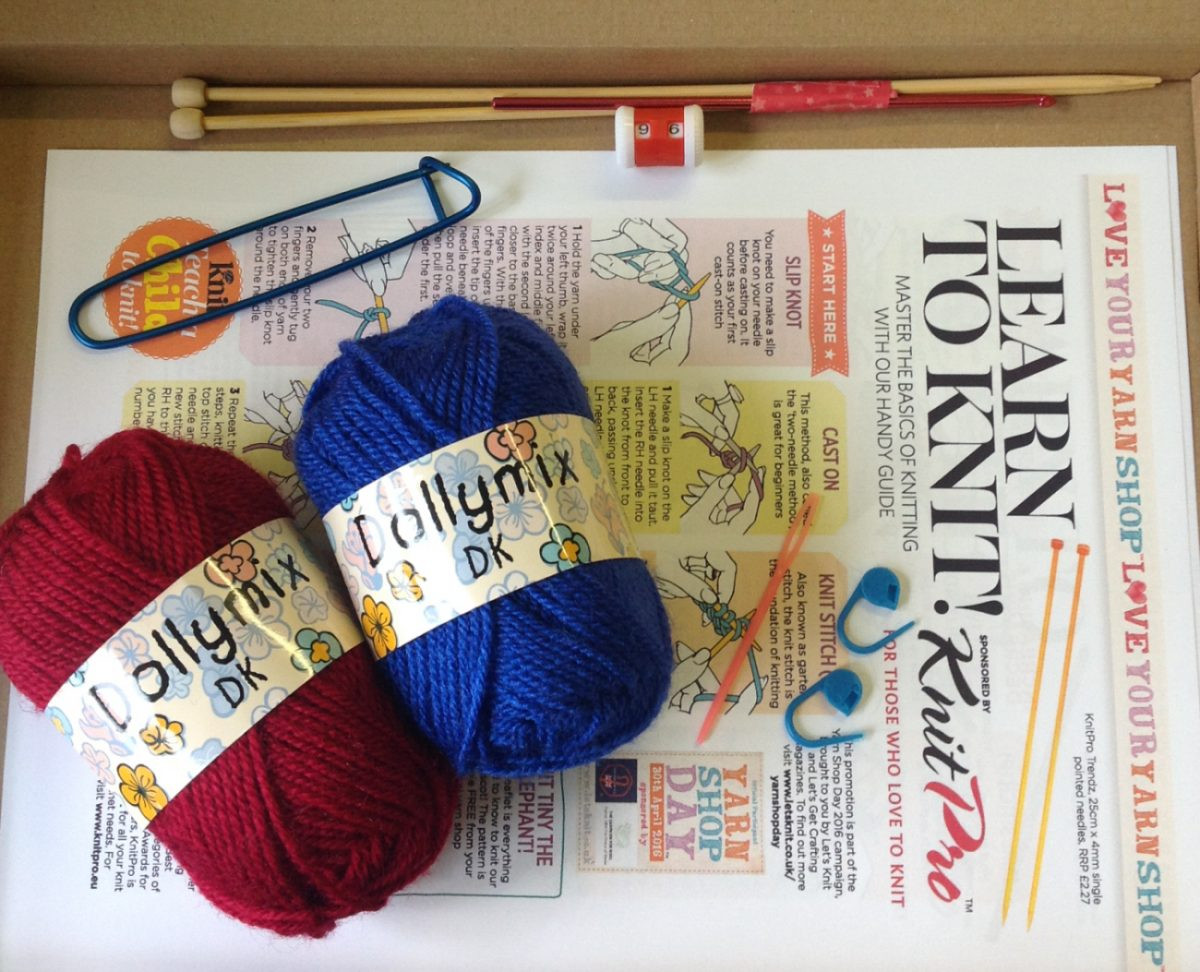 Beginners Learn to Crochet Knit Kit Crafty Trading