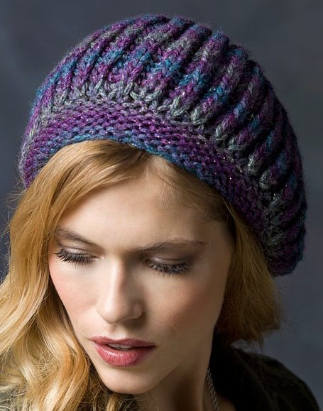 slouchy beret knitting patterns