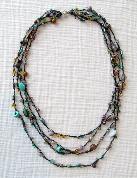 Fresh Best Seed Bead Jewelry 2017 Beaded Crocheted Necklace Crochet Bead Necklaces Of Unique 44 Photos Crochet Bead Necklaces