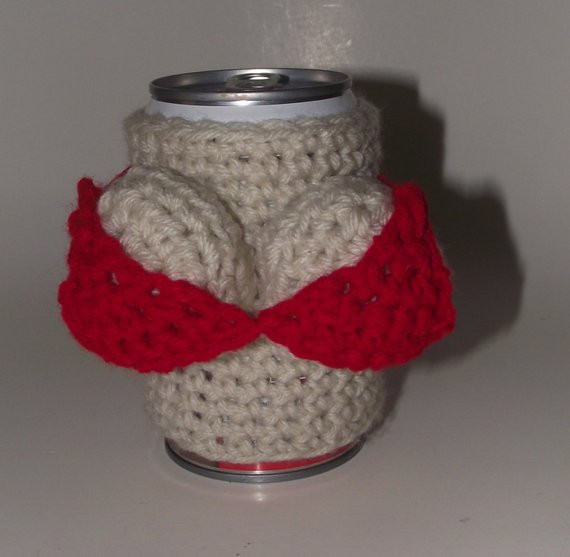 Fresh Bikini Breast theme Crochet Can Koozie Coozie Cozy Koozy Can Cozy Of Wonderful 48 Pictures Can Cozy