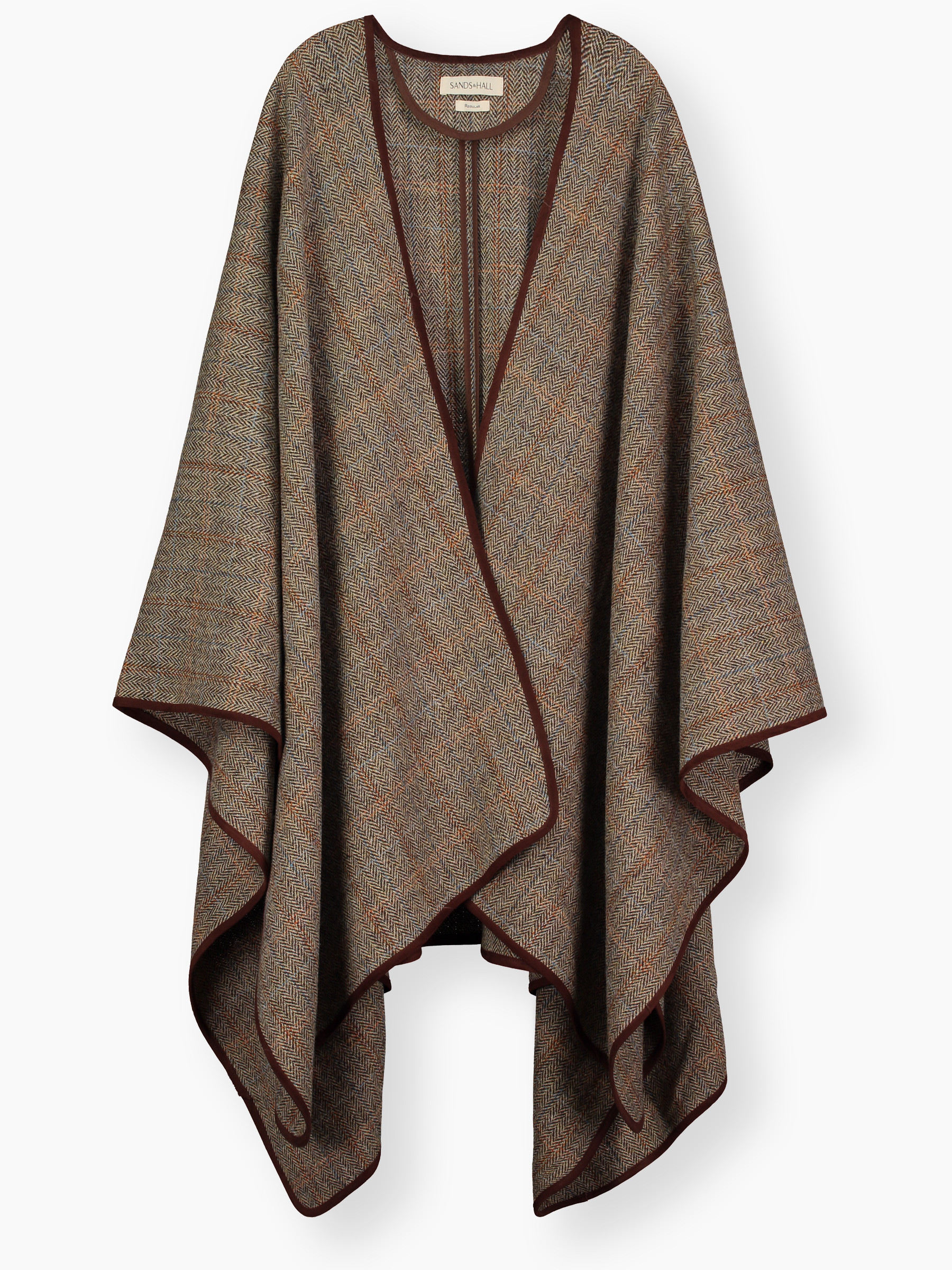 Fresh Blanket Cape Sienna Mix Harris Tweed Cool Ponchos Of Luxury 46 Pics Cool Ponchos