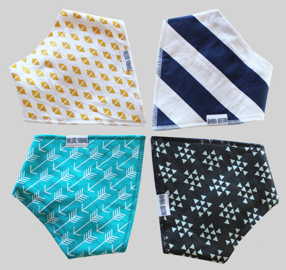 Fresh Boys Bandana Drool Bib Bamboo button Scarf Bibs for Boys Children's Scarves Of New 48 Pictures Children's Scarves