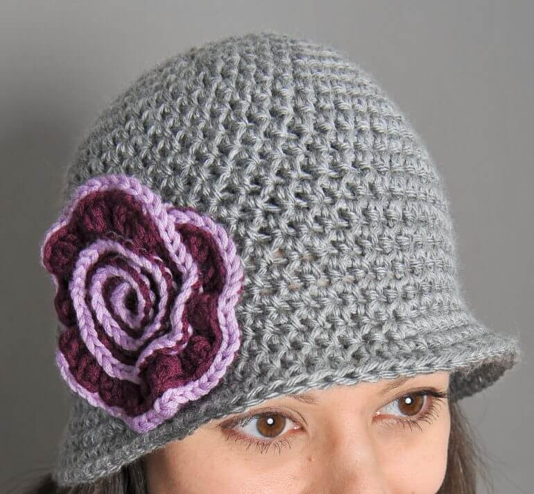 Fresh Brimmed Hat with Swirl Flower Petals to Picots Crochet Hat with Brim Pattern Of Contemporary 46 Photos Crochet Hat with Brim Pattern