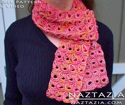 Fresh Broomstick Lace Crochet Stitch Scarf by Donna Wolfe From Lacy Crochet Scarf Patterns Of Amazing 50 Pics Lacy Crochet Scarf Patterns