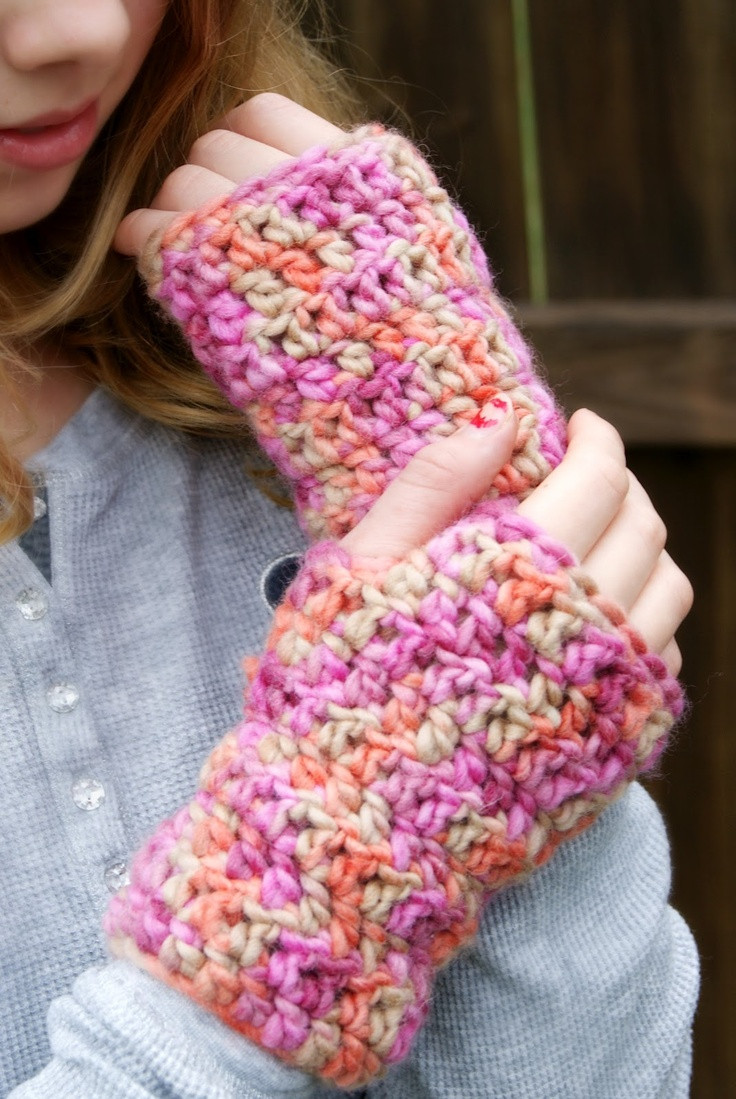 Fresh Bulky Yarn Fingerless Gloves Free Pattern Free Crochet Patterns for Bulky Yarn Of Beautiful 46 Photos Free Crochet Patterns for Bulky Yarn