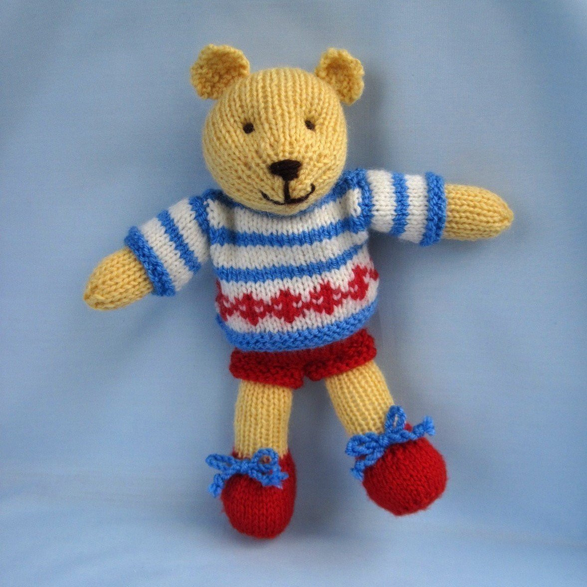 Fresh butternut Bear Teddy Knitting Pattern Instant Download Knitted Bear Pattern Of Brilliant 42 Photos Knitted Bear Pattern
