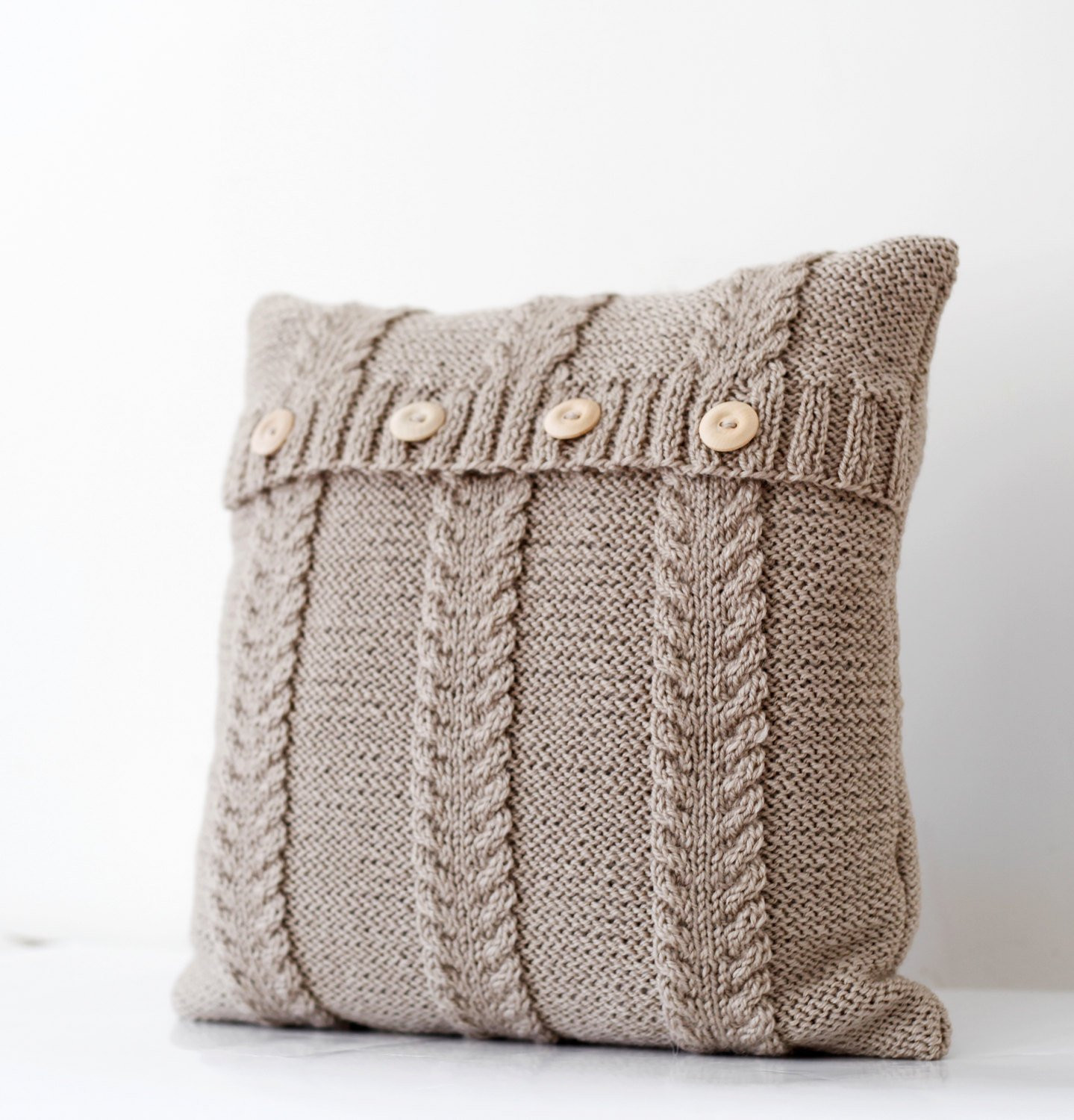 Fresh Cable Hand Knitted Beige Pillow Cover Handmade Decorative Cable Knit Pillow Cover Of Top 41 Pictures Cable Knit Pillow Cover