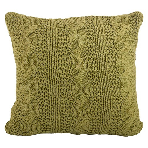 Cable Knit Design Throw Pillow Tar