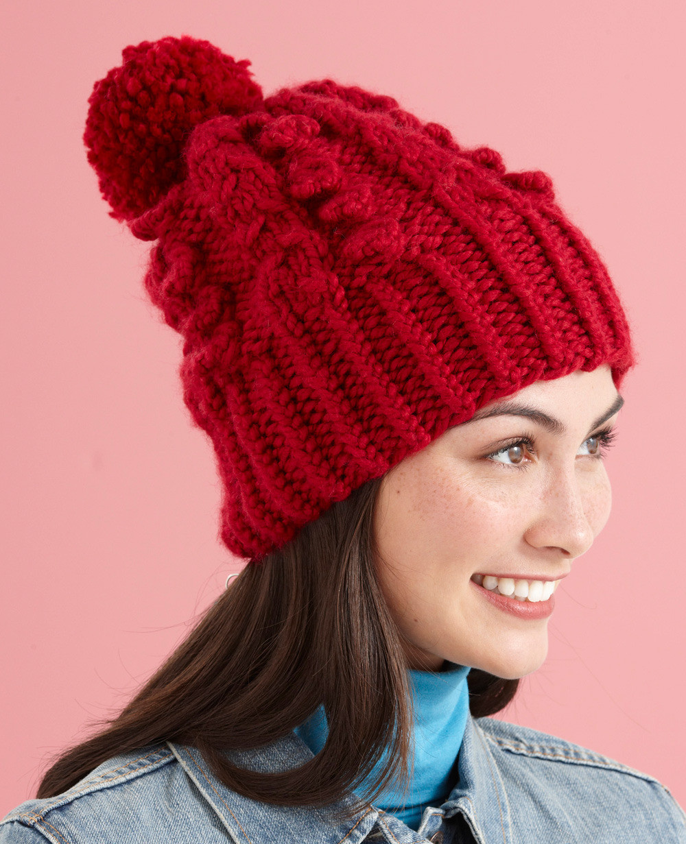 Fresh Cable Vision Hat In Lion Brand Wool Ease Thick & Quick Lion Brand Yarn Free Patterns Of Contemporary 45 Pics Lion Brand Yarn Free Patterns
