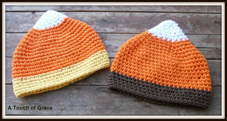 Candy Corn Hat by crochetbyjen