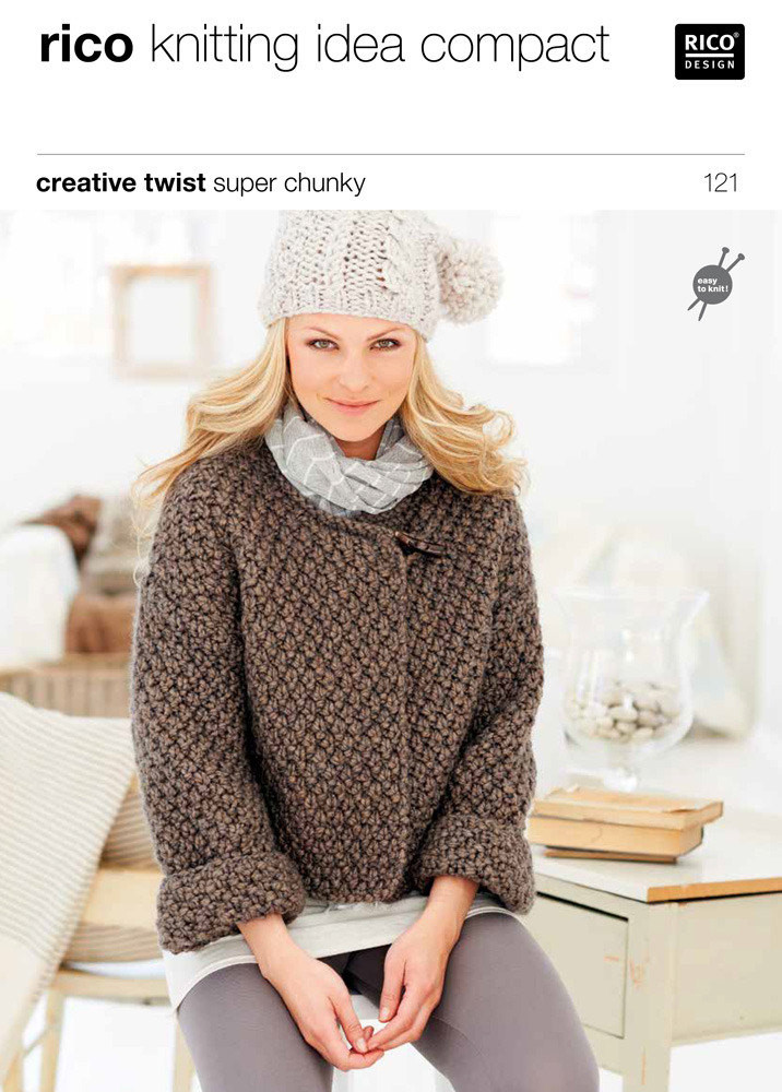 Fresh Cardigans In Rico Creative Twist Super Chunky 121 Chunky Yarn Knitting Patterns Of Great 42 Photos Chunky Yarn Knitting Patterns