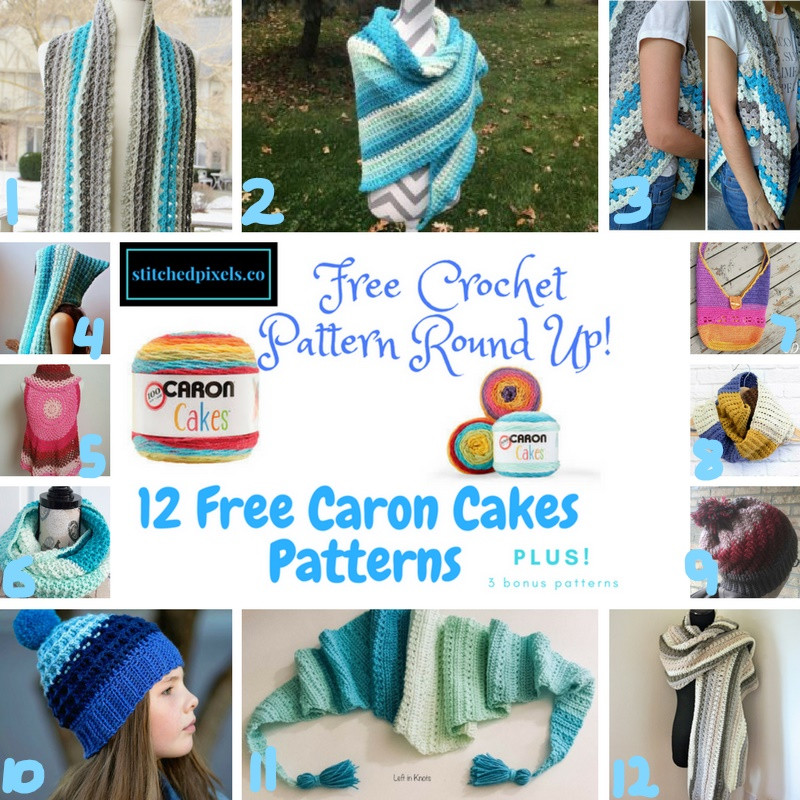 Fresh Caron Cakes Pattern Round Up – Stitched Caron Cotton Cakes Yarn Of Amazing 48 Photos Caron Cotton Cakes Yarn