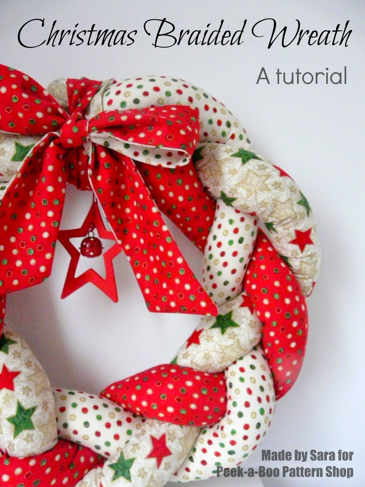 Fresh Christmas Braided Wreath A Tutorial Peek A Boo Pages Christmas Sewing Patterns Of Contemporary 43 Images Christmas Sewing Patterns