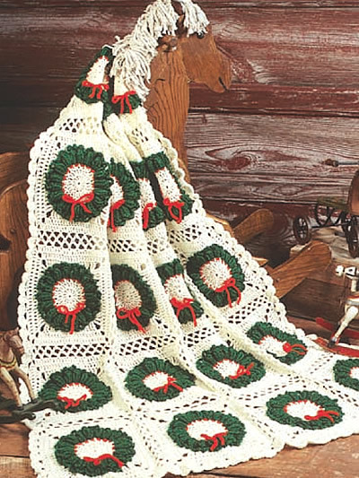Fresh Christmas In July – More Christmas Afghans to Crochet Crochet Christmas Afghan Of Contemporary 48 Pics Crochet Christmas Afghan