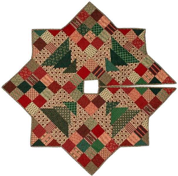 Fresh Christmas Patch Tree Skirt Quilt Pattern Cmq 109 Free Tree Skirt Patterns Of Brilliant 44 Pics Free Tree Skirt Patterns