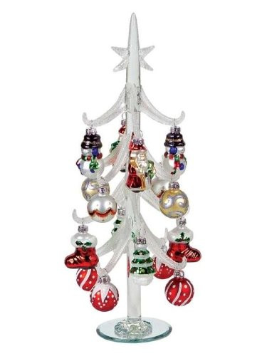Fresh Christmas Table Centerpieces are the Heart and soul Of Glass Christmas Tree Decorations Of Great 42 Ideas Glass Christmas Tree Decorations