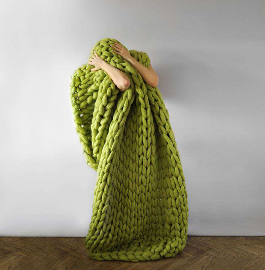 Fresh Chunky Hand Knit Blankets for Giants that Also Work for Humans Chunky Yarn Blanket Pattern Of Wonderful 45 Images Chunky Yarn Blanket Pattern