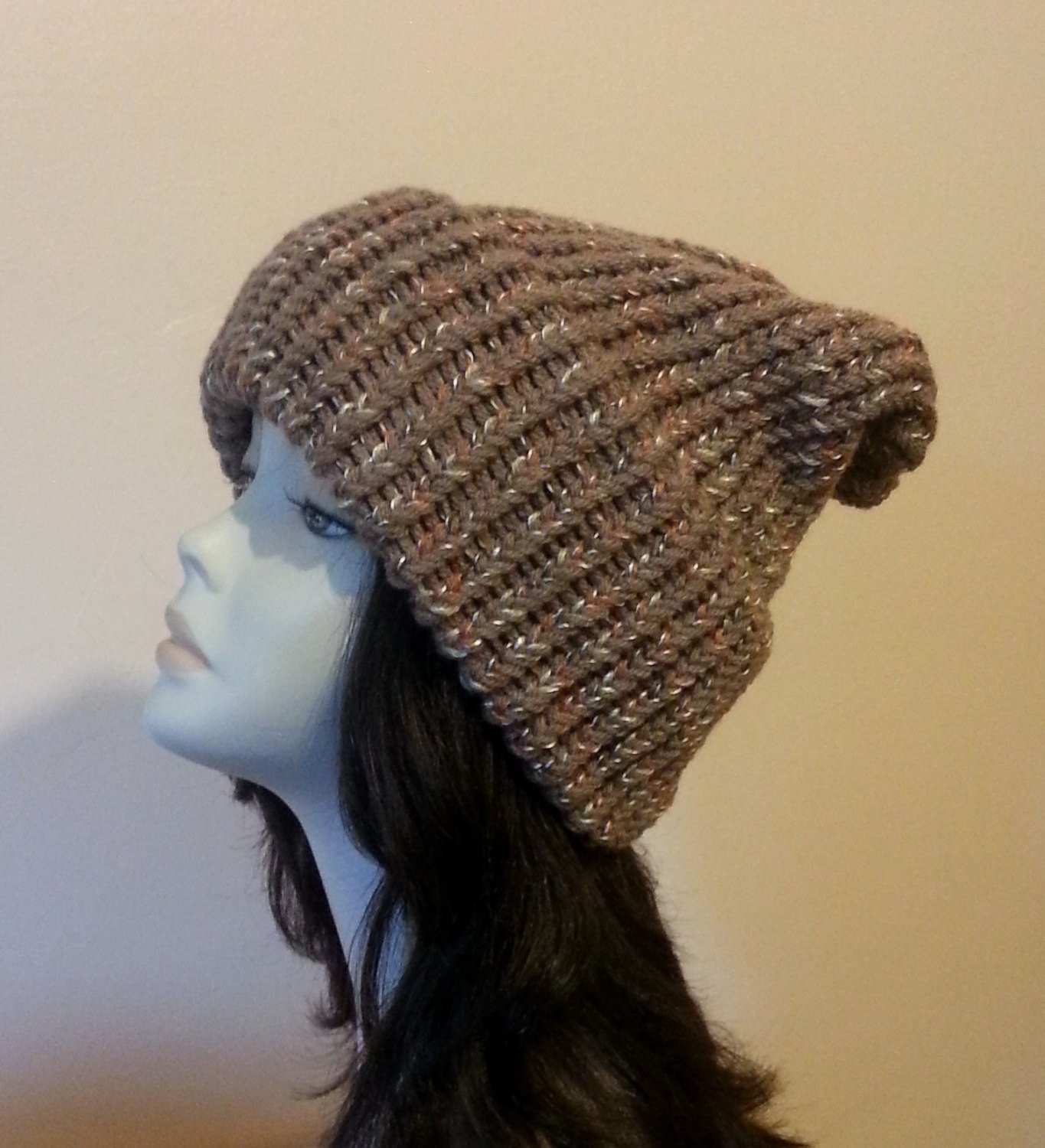 Fresh Chunky Loom Knitted Hat Loom Slouch Knit Hat Hand Knit Hat Chunky Knit Hat Of Delightful 46 Pictures Chunky Knit Hat