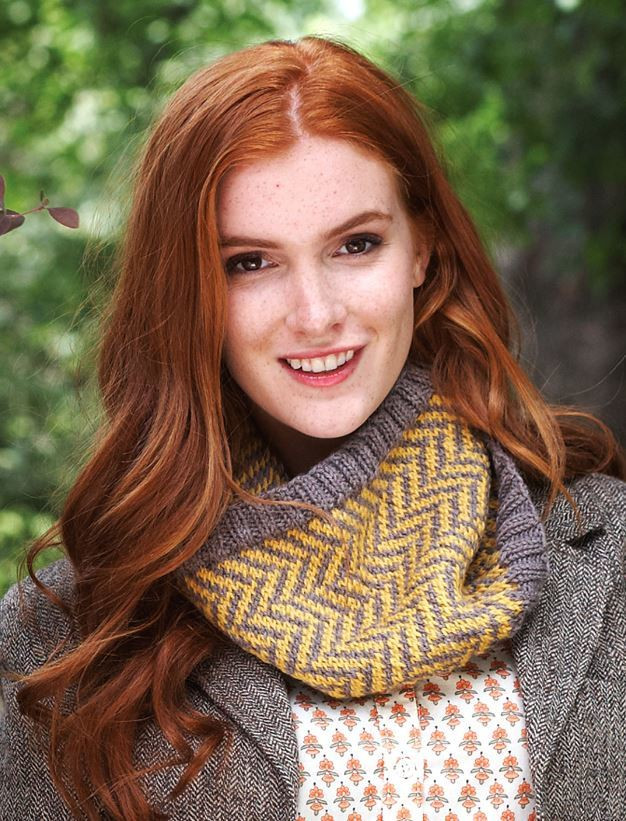 Fresh Colorful Chevron Cowl Knitted Cowl Of Brilliant 41 Models Knitted Cowl