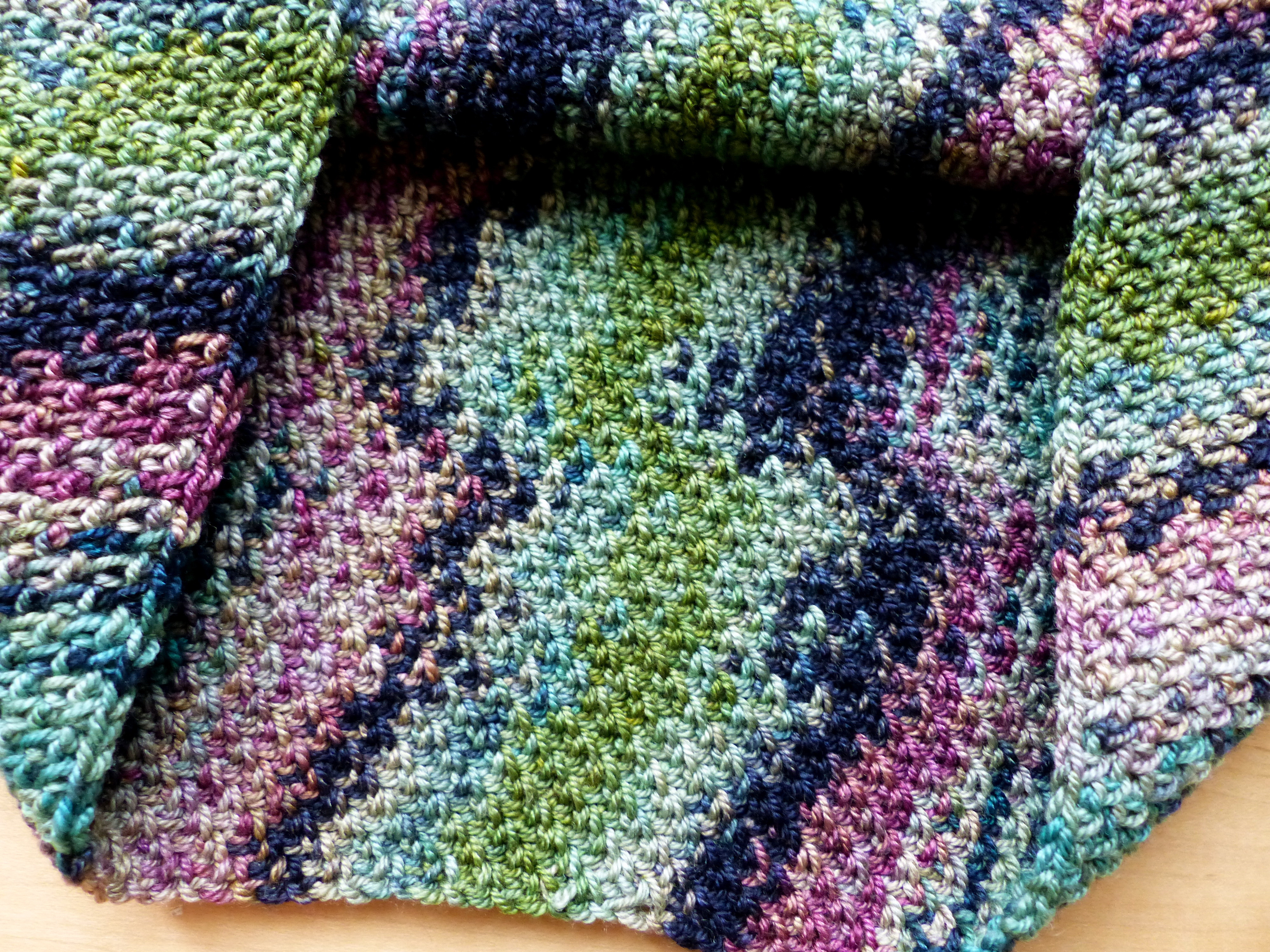 Fresh Colour Pool Cowl Variegated Yarn Crochet Patterns Of Attractive 44 Ideas Variegated Yarn Crochet Patterns