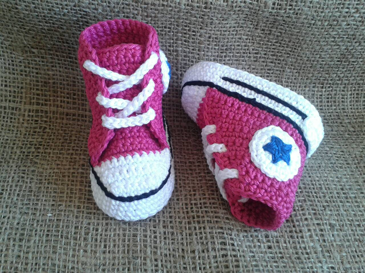 Fresh Converse Pattern All Star Baby Crochet Converse Newborn Crochet Converse Baby Booties Of Wonderful 41 Models Crochet Converse Baby Booties