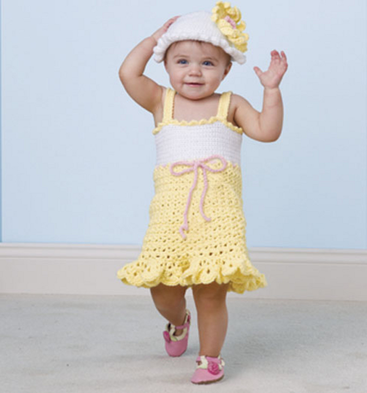 Fresh Craftdrawer Crafts Free Crochet A Summer Baby Dress and Baby Dress Patterns Of Perfect 47 Models Baby Dress Patterns
