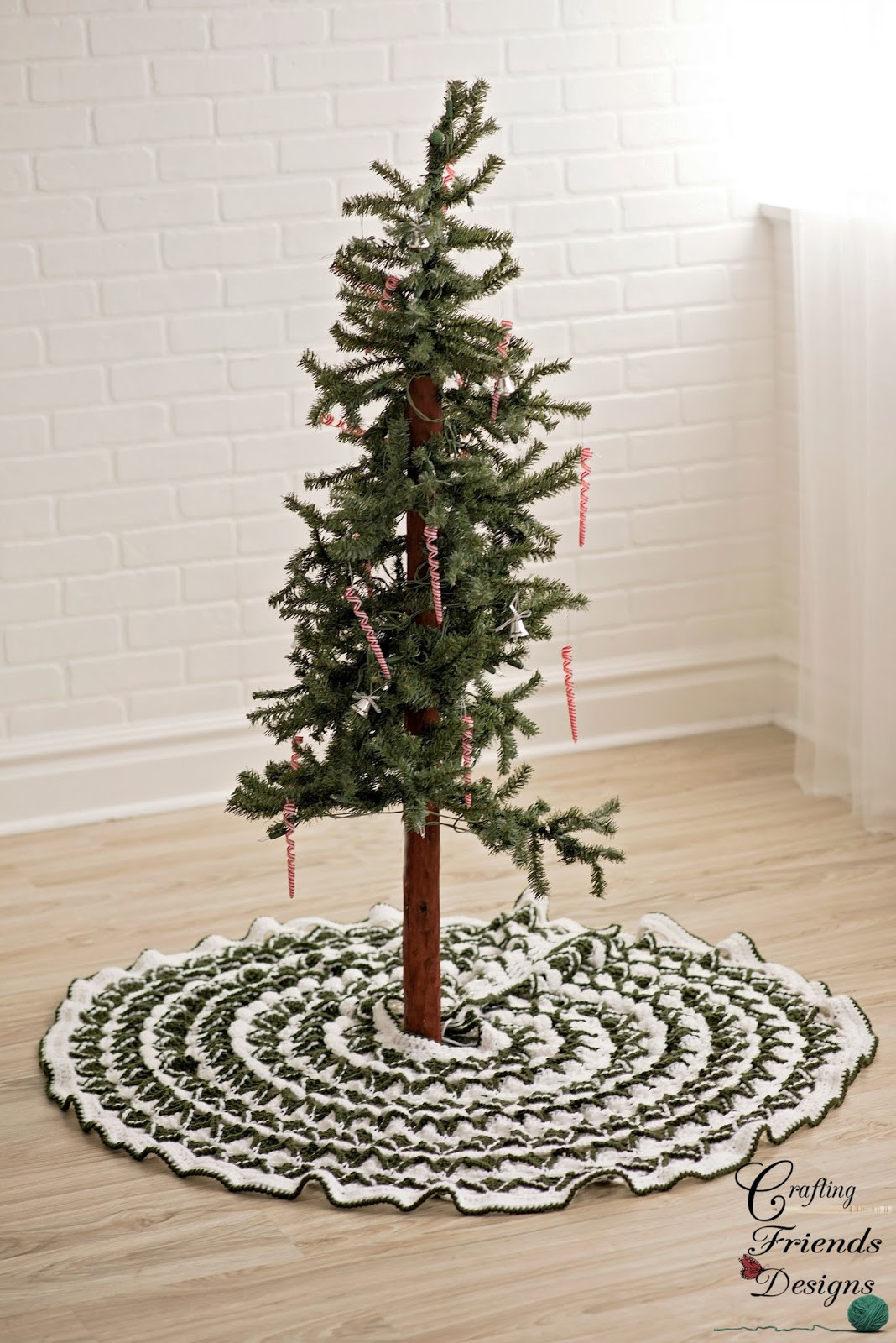 Fresh Crafting Friends Designs Christmas Pine Tree Skirt Free Crochet Tree Skirt Of Innovative 45 Ideas Crochet Tree Skirt