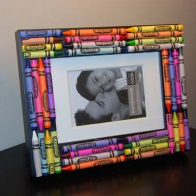 Fresh Crayon Picture Frame Crafts for Kids Tip Junkie Picture Frame Crafts for Kids Of Adorable 48 Models Picture Frame Crafts for Kids