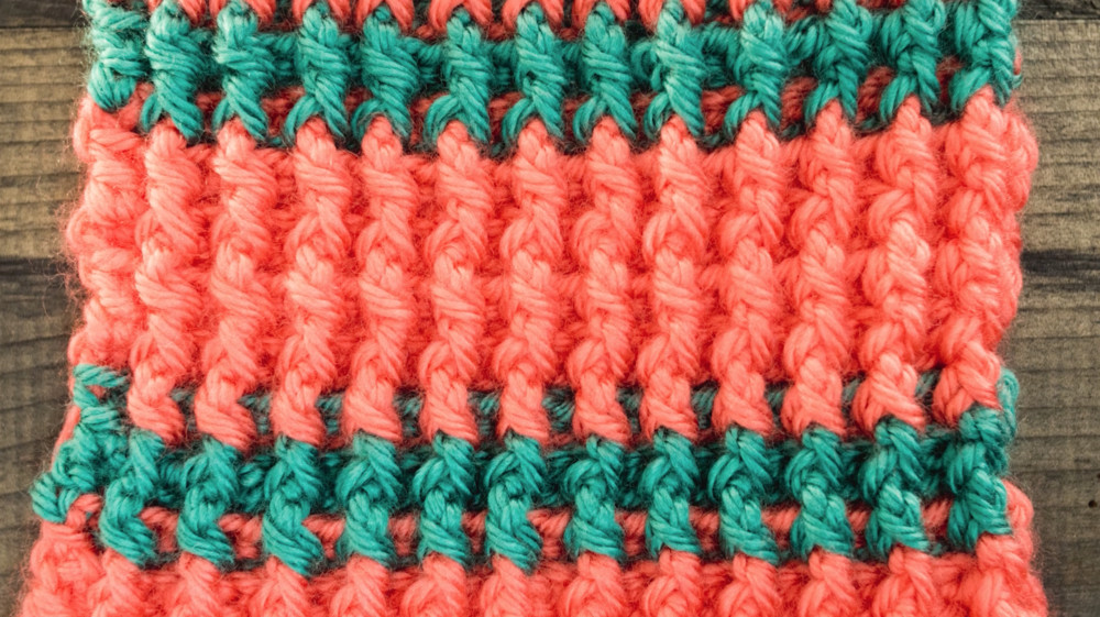 Fresh Crochet A Left Handed Front Post and Back Post Double Crochet Post Stitch Of Incredible 45 Images Crochet Post Stitch