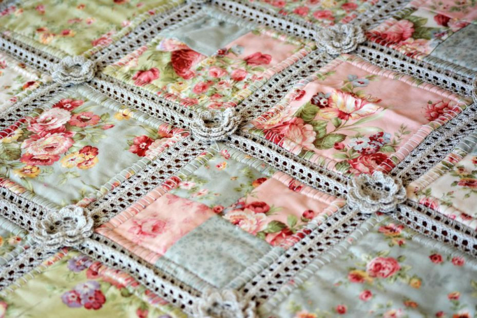 Fresh Crochet and Fabric Quilt Crochet and Fabric Quilt Of Top 45 Models Crochet and Fabric Quilt