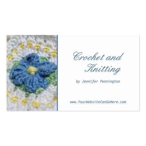 Fresh Crochet and Knitting Customizable Business Card Crochet Business Cards Of Superb 40 Photos Crochet Business Cards