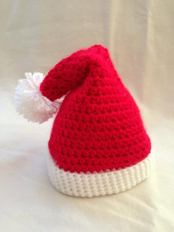 Fresh Crochet Baby Christmas Santa Hat Size Newborn An Adorable Crochet Baby Santa Hat Of Amazing 44 Images Crochet Baby Santa Hat