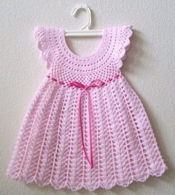 Fresh Crochet Baby Dress Patterns for Free Crochet Girl Dress Of Awesome 46 Images Crochet Girl Dress