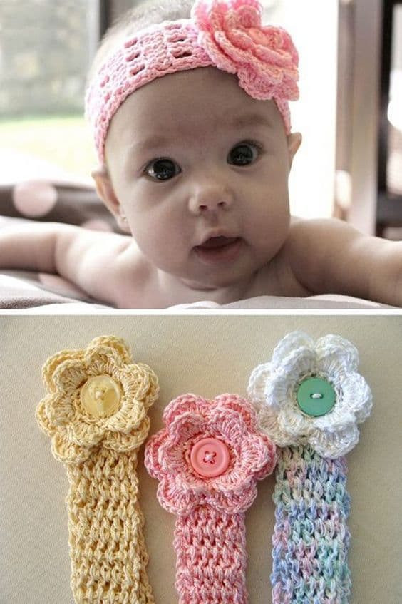 Fresh Crochet Baby Headband Patterns and Easy Video Tutorial Babies Crochet Headbands Of Awesome 49 Photos Babies Crochet Headbands