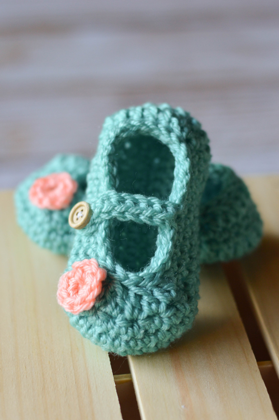 crochet baby mary jane slippers free patterns