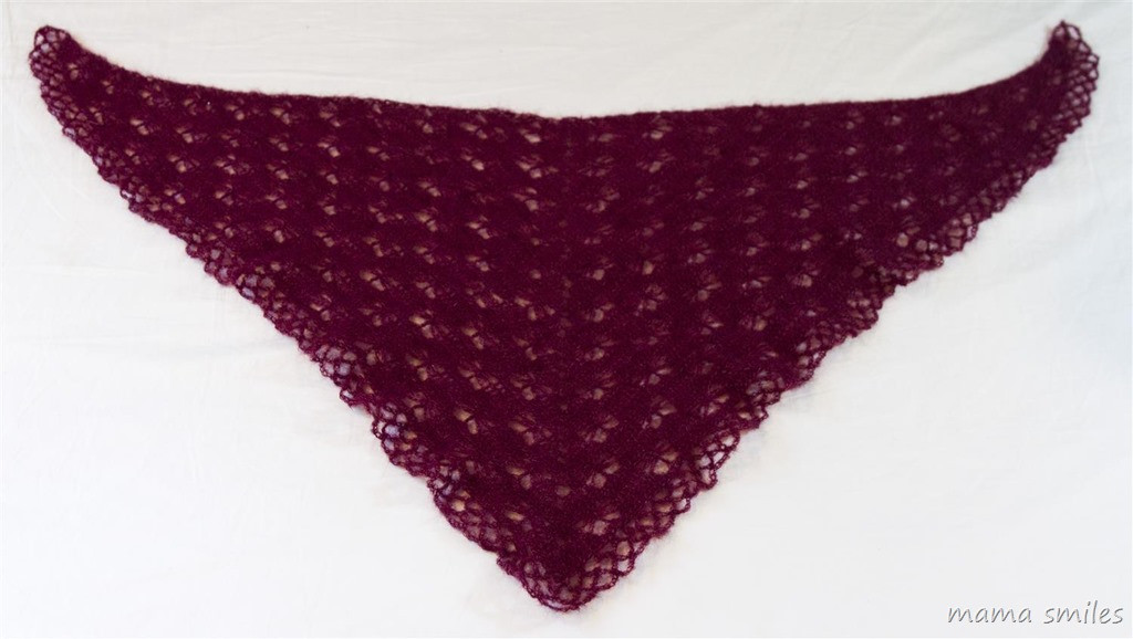 Crochet Butterfly Prayer Shawl