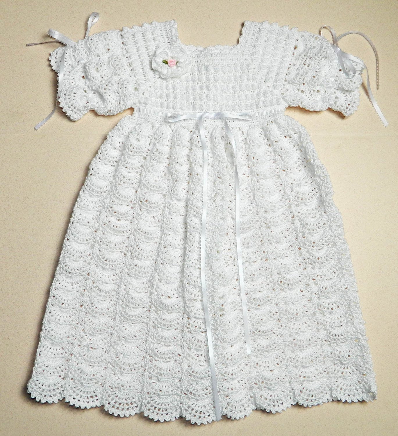 Fresh Crochet Christening Blessing Gown Open Fan Pattern Christening Dress Patterns Of Awesome 43 Ideas Christening Dress Patterns